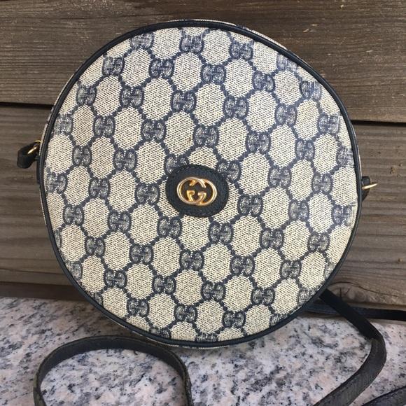 4bee866b1c78b Gucci Vintage Gg monogram Supreme Canteen bag
